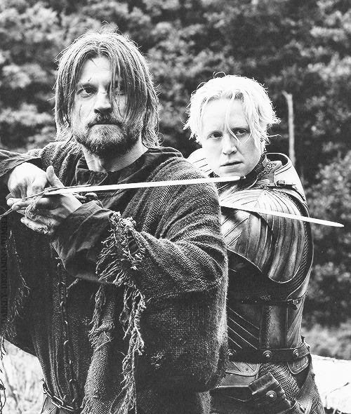 zoes-horror-show:  darkly—dreaming:  Jaime & Brienne