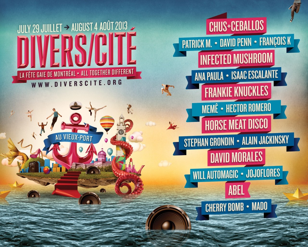 Nous sommes heureux d'accueillir Divers/Cité au Vieux-Port encore cet été!   We're very happy to once again welcome Divers/Cité in the Old Port this summer!
