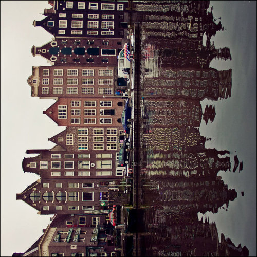 missladywinter:  Amsterdam Reflections by Krapivka2007 ( on devientart)