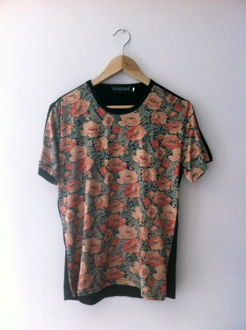 buy this, here only £20  http://fixedclothing.bigcartel.com/product/floral-print-tee