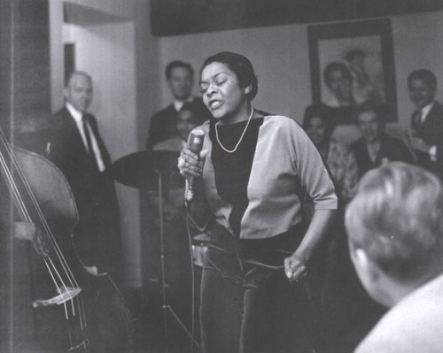 "Quincy Jones describes Dinah Washington's style: she ""could take the melody in her hand, hold it like an egg, crack it open, fry it, let it sizzle, reconstruct it, put the egg back in the box and back in the refrigerator and you would've still understood every single syllable.""  more."