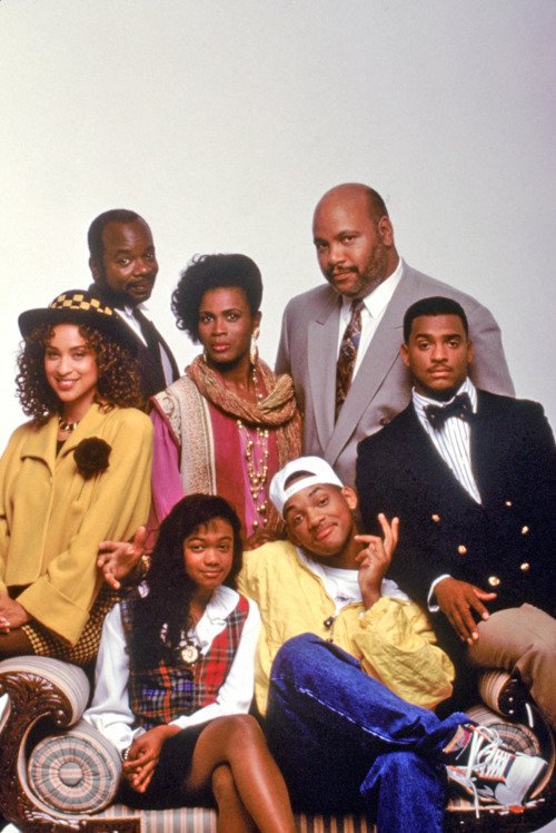 afidai:  The cast of the Fresh Prince of Bel Air