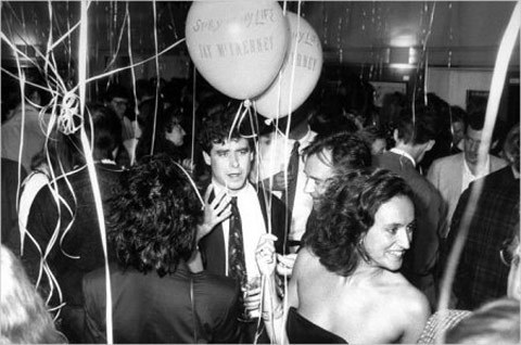 "jay mcinerney, from ""20 excellent photos of famous authors partying"" on flavorwire"