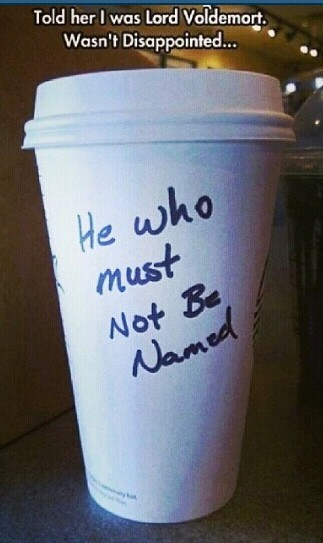 Starbucks employees doing it right lol