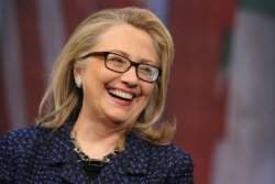 "newsweek:  Is America Ready for a Female President—or Just President Hillary?  Pollsters Jeffrey Liszt and Lisa Grove shared that in a recent survey of voters in battleground states, a whopping 72% ""believe that it is likely that our next president will be a woman."" This information, of course, makes sense only in a political landscape featuring Hillary. It may be that nearly three-quarters of voters are ready (perhaps even eager) to elevate a generic woman to the Big Chair. But, absent Hillary, no way 72% of any group would consider such an outcome likely in the very next election.  Agree with that, tumblr?  yes'm"