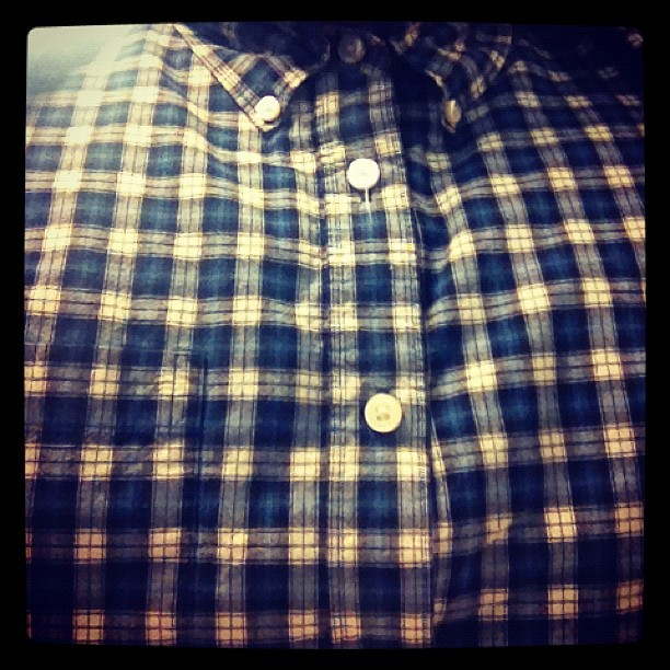 #plaid #buttonup #shirt #greaser #rockabilly #me #work