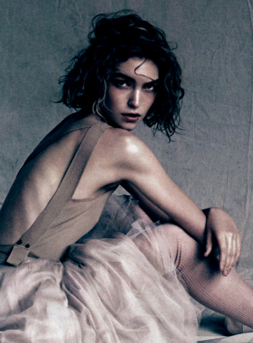 "furples:   Arizona Muse by Paolo Roversi for ""Sound of Silence"" Vogue China April 2011"