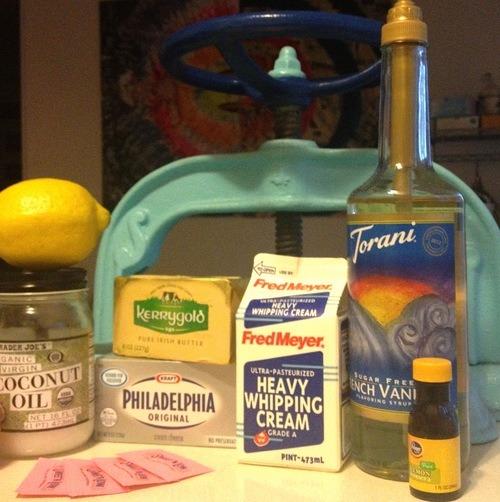 Fat Bombs: Lemon Clouds