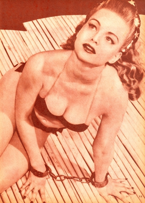 Virginia Busch in Beauty Parade, October 1947.