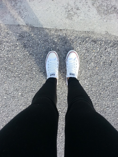 fierrrrrrce:  x   Fresh brand new chucks!! The best feeling ever!