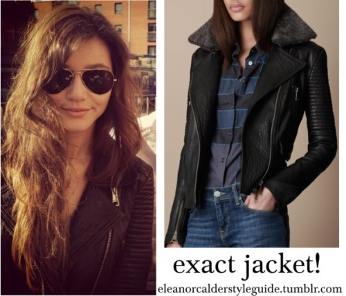Eleanor wore this jacket by ieleanorcalderstyle featuring burberry jacketBurberry  jacket