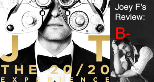 funnyordie:  Joey Fatone Reviews Justin Timberlake's '20/20 Experience' Torn about whether to buy Justin Timberlake's new album? Joey Fatone's track-by-track breakdown should help.