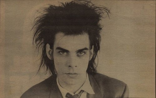 getoutofmypurplesubmarine:  Three things. I'm Nick Cave. I love you. And I want to tell you about a girl. - Nick Cave, Philadelphia 1989