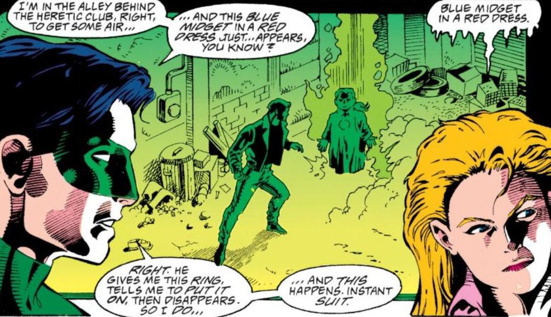 Green Lantern (1990) #51 #green lantern#kyle rayner #graphic design is my passion #aleandra dewitt#dc#dc comics