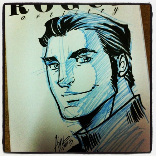 momochanners:   Biotical    Yay I got my mini-sketchbook (with this lovely Kaidan sketch) from Aimo yesterday!  It's gorgeous, thank you :)