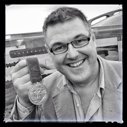 Mark Covell #olympic #legend #medal #collectivespirit @theboatproject (at Alexandra Palace)