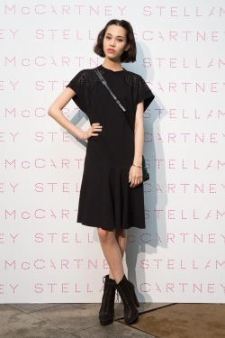 fyeahkikomizuhara:  at the stella mccartney f/w 2013 presentation & party at the british embassy in tokyo, japan