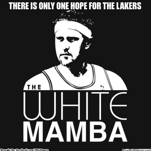 thenbamemes:  Lakers' Only Hope?