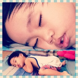 Hush! My godson's sleeping. ;3  #Dylan