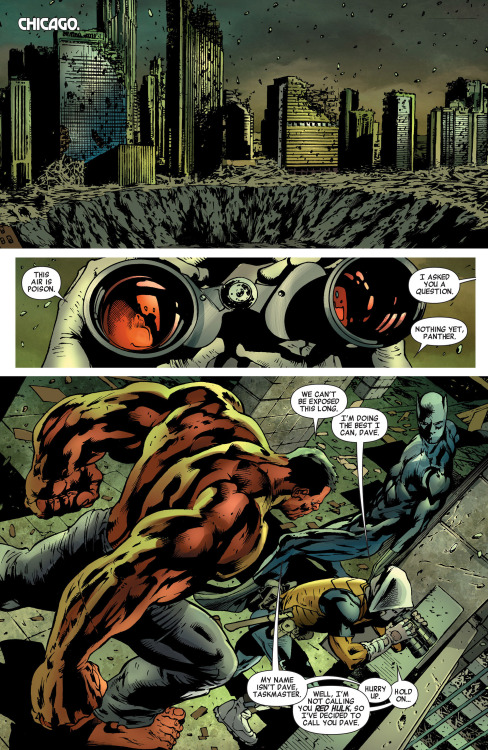 towritecomicsonherarms:  Dave Age of Ultron #3