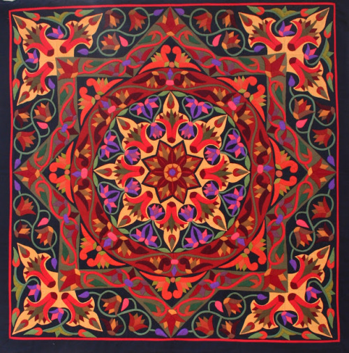 A Khayamiya by Ekramy Hanafy, 2012 (via The Textile Blog: The Tentmakers of Chareh El Khiamiah)