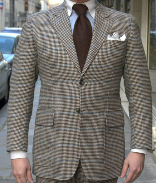 marcguyot:  Suit, Shirt, Tie and Pocket Square From Marc Guyot Paris.