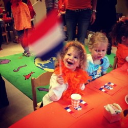 Queen's Day breakfast
