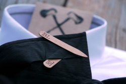 Customizable Wooden Collar Stays