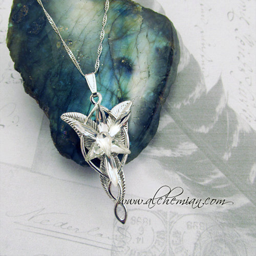 Arwen Evenstar necklace sold by AlchemianShop $30.87