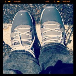 Rockin these old thangs today #sneakerst #couponlove