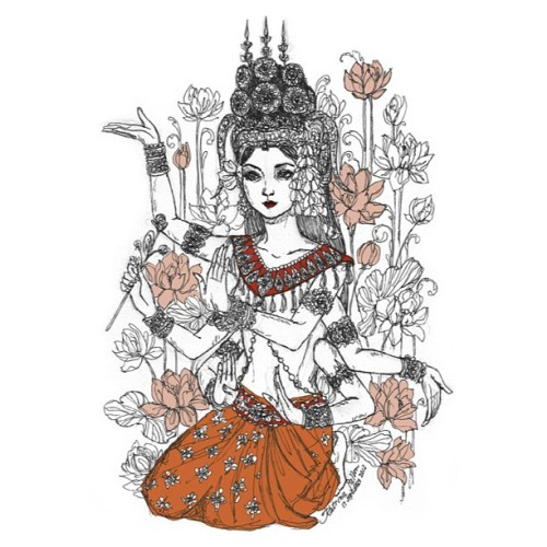 preetza:  tattoo inspiration? #apsara