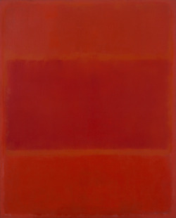 americangentility:  Red and Orange by Mark Rothko,1955