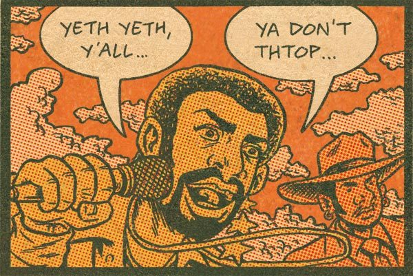 Lonzo Williams makes his Hip Hop Family Tree debut tomorrow. Don't know who he his? Tune in here later. http://boingboing.net/tag/hip-hop-family-tree