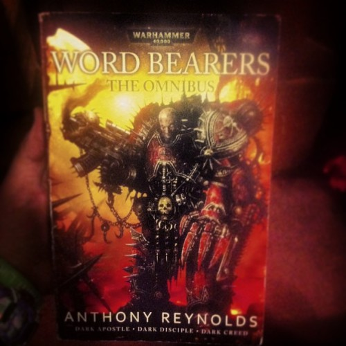 Holy fuck that was a great read! Such a good book. #Warhammer40K #WordBearers #DownWithTheFalseEmperor