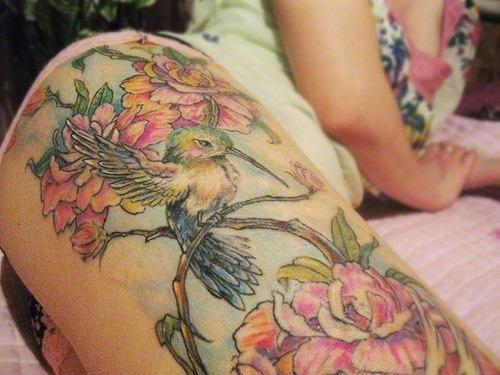 Gah It's like a story book! I love well done tatts.