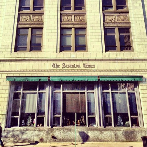 leisureforthelonley:  #downtown #scranton #pennsylvania #architecture (at The Times-Tribune)