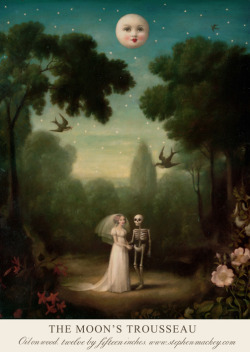 The Moon's Trousseau. By Stephen Mackey. Find ArtisticMoods on Facebook & Twitter.