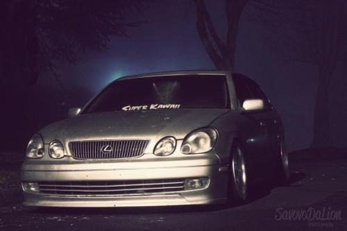 supercute-crew:  Zombie GS. Justin's GS300. Photo by: Savovodalion. http://www.facebook.com/supercutecrew  My GS300, go like my crew!