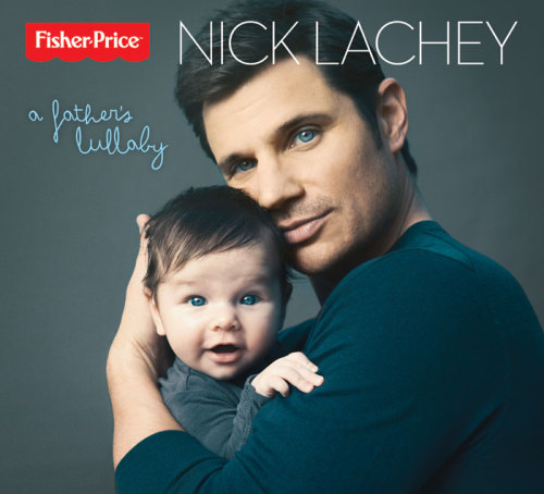 "AWWW. Nick Lachey hopes his latest album will lull your kids to sleep… The new dad will release ""A Father's Lullaby,"" a partnership with Fisher-Price, in a few weeks: http://blbrd.co/YWcg26"
