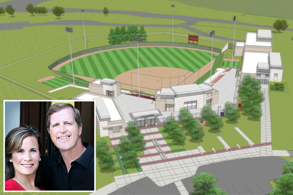 "IU Trustees Approve Naming IU Softball Stadium ""Andy Mohr Field"" in Honor of Gift to IU Athletics IU Athletics announced that it will officially name its new softball facility ""Andy Mohr Field"" in honor of a major gift from Mohr, CEO of Plainfield-based Andy Mohr Automotive Group. The Indiana University Board of Trustees officially approved the name of the stadium when it met on Friday, December 7. ""Andy Mohr has been a long-time supporter of the IU Varsity Club,"" said Fred Glass, IU vice president and director of intercollegiate athletics. ""This new and significant gift, combined with Andy's ongoing Varsity Club support speaks volumes about his commitment to the success of IU Athletics. We are incredibly grateful to Andy, and his wife Lorna, for helping us provide IU student-athletes with world-class resources and facilities. We could not be more thrilled to dedicate the new stadium this spring and formally name it in Andy's honor."" Read more of this story.Thank you to Mr. & Mrs. Mohr for making it possible for our softball team to compete in a modern, state-of-the-art facility! View softball and baseball construction photos. To learn more about baseball and softball projects, visit our Capital Projects web page."