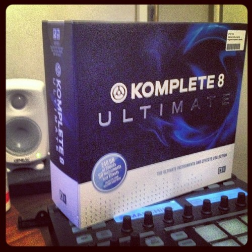 #maschine#ultimate#komplete#8#studio#genelec#music#production#ig #igers #instagrammers #instagram #picoftheday #bestoftheday #photooftheday #getting#mire#stuff#hard #work#sweden #luleå