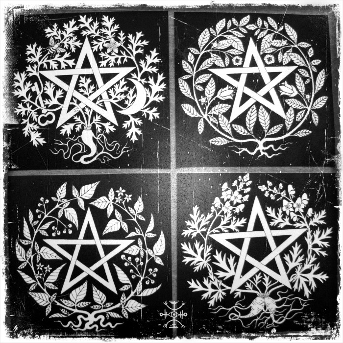 witchofforestgrove:  Poison Pentacles Collection by Sarah Anne Lawless