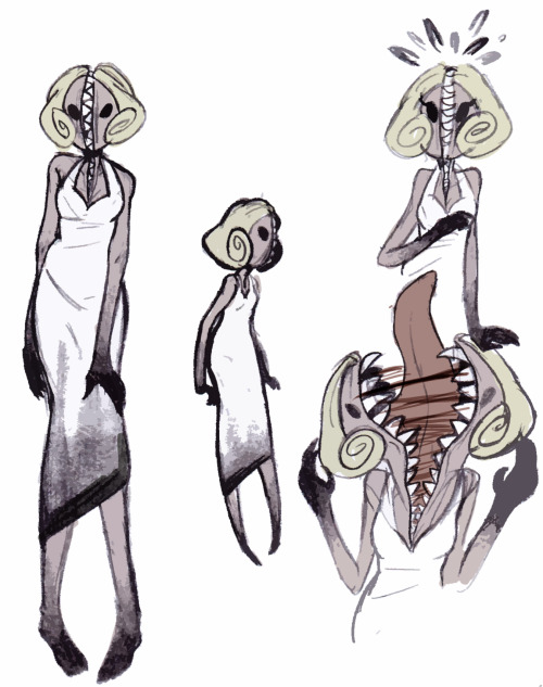 froakieappreciationblog:  zndriazombie:  forgets how to draw any monster boys because when there's girls why would you ever draw anything but girls  damn!