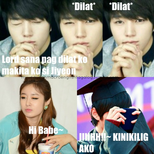 "myungyeonmacroenglishtagalog:  MyungYeon Shippers.. Here we go with my new Idea :"">  Kinilig din ako :"">"