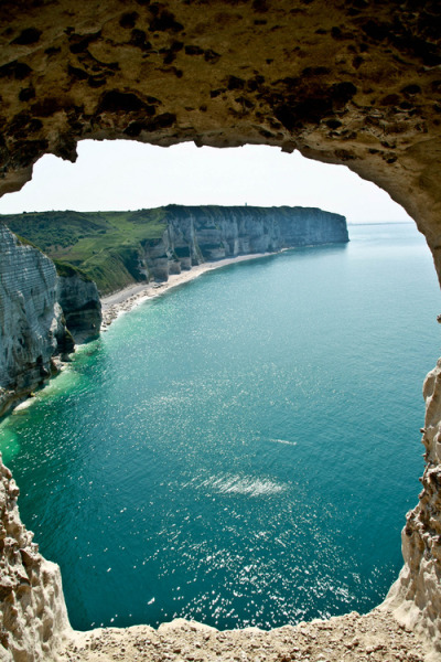 e4rthy:  Etretat France, Normandie by Antonio Ponte