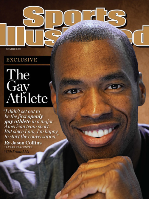 siphotos:  In this week's SI, Jason Collins comes out of the closet as the first openly gay player in a major American team sport. (Kwaku Alston/SI) LIDZ: Jason Collins explains why he came out of closet