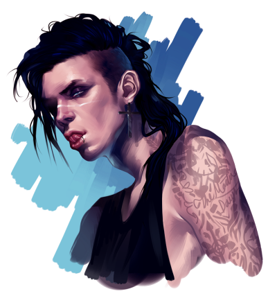 Andy Biersack speedpaint I did at the beginning of the month, enjoy! ❤