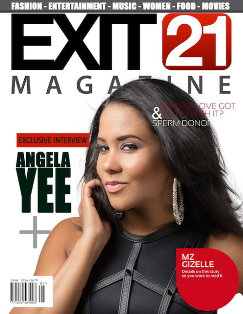 Angela Yee Covers Exit 21 Magazine Summer Issue #MagazineMonday