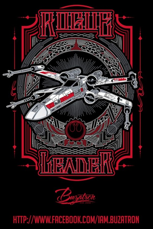 """Rogue Leader"" by BuzatronNow available at Redbubble and Society 6"