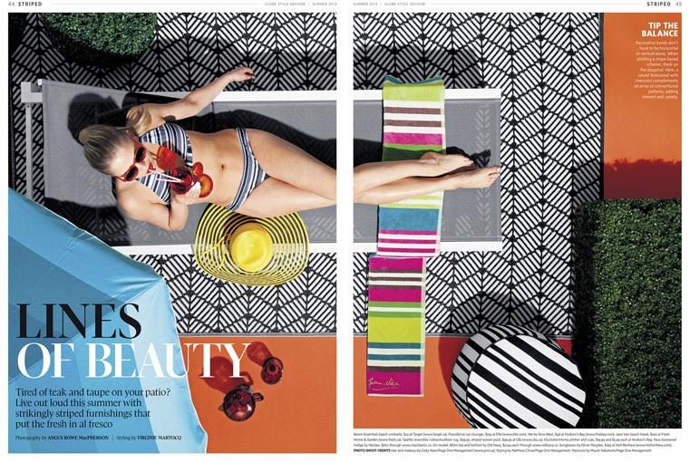 "Angus - ""Lines of Beauty"" for The Globe & Mail's Style Advisor. A.D: Bryan Gee. Editor: Cameron Williamson"